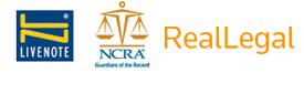 LiveNote. NCRA. Real Legal